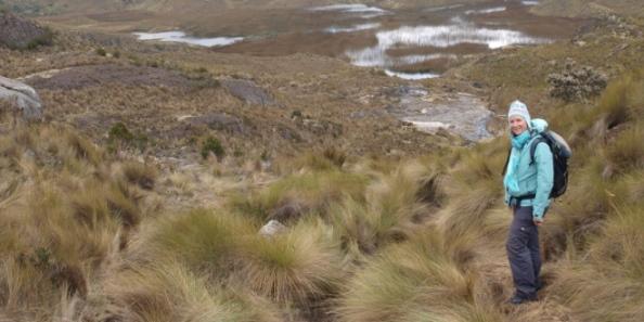 Muts op in de Andes