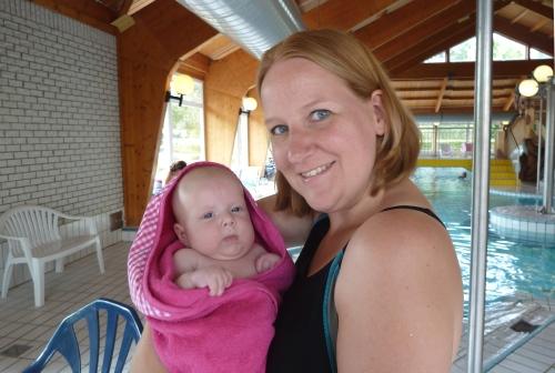zwemmen baby