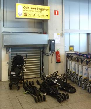 Buggy bagageband