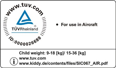 TUV aircraft approved