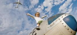 veilig vliegen met baby