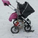 Kinderwagenskies