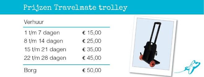 Travemate trolley verhuur