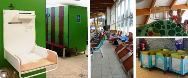 faciliteiten voor baby's bij Therme Amadé