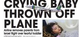 Huilend kind vliegtuig