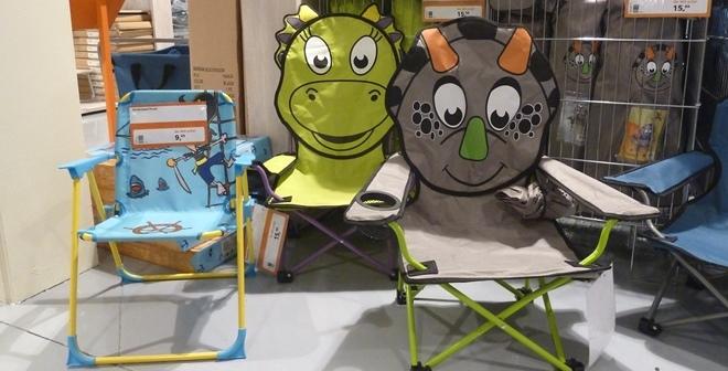 Bo Camp Stoel : Kinderstoelen voor de camping