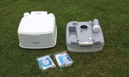 Chemisch Toilet Vloeistof : Voor het eerst kamperen met een porta potti [review]