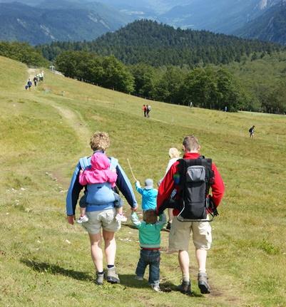 Bergwandelen met kinderen