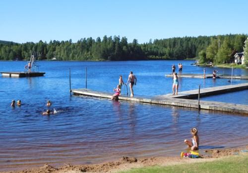 Camping Spilhammars zwemmen