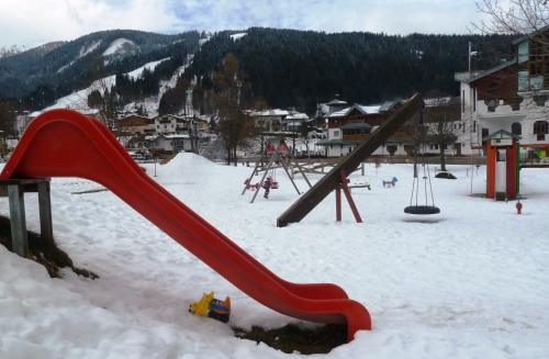Wintersport baby Flachau