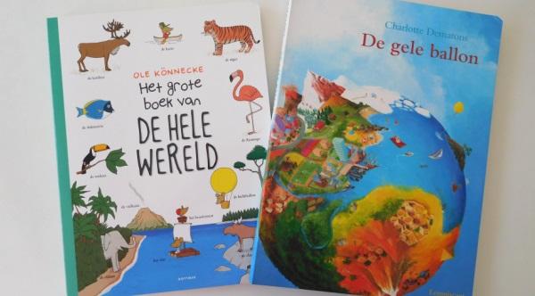 Kinderboekenweek prentenboek wereld