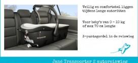 Verhuur Jané reiswieg auto