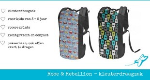 Rose Rebellion kleuterdrager