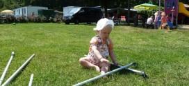 kamperen met baby