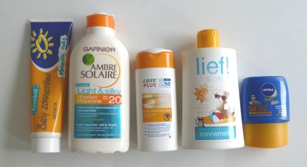 Zonnebrandcreme voor kinderen