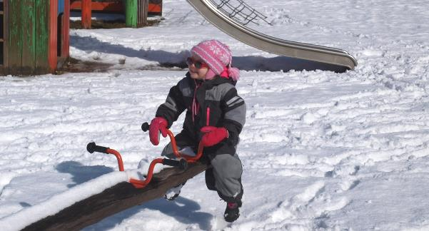 Wintersportkleding peuter sneeuw