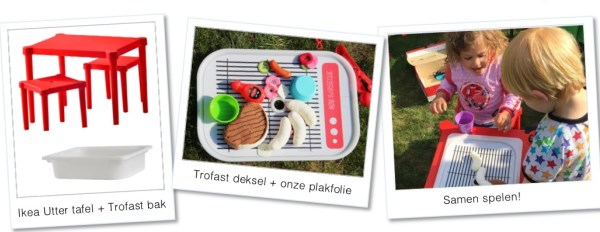 Ikea hack Trofast bak wordt barbecue