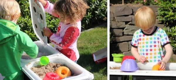 DIY-keuken en barbecue met IKEA Trofast bakken