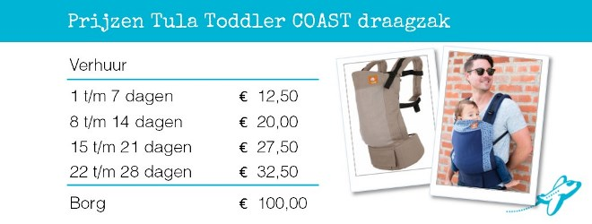 Verhuur Tula Toddler Coast
