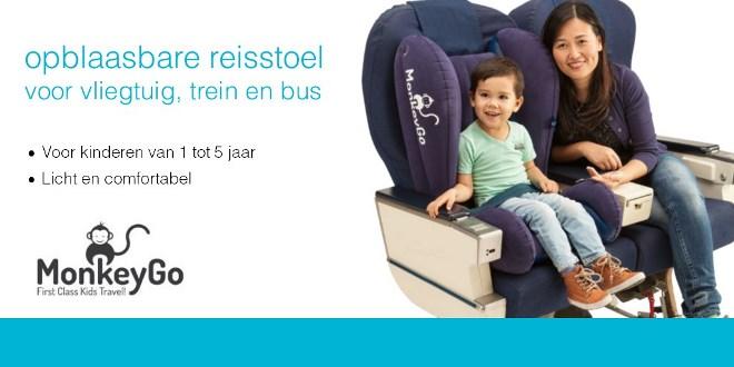 Kinderstoel Voor Peuters.Monkeygo Opblaasbare Reisstoel