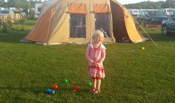 jeu de boules camping