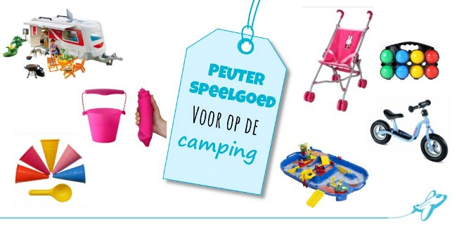 speelgoed camping peuter