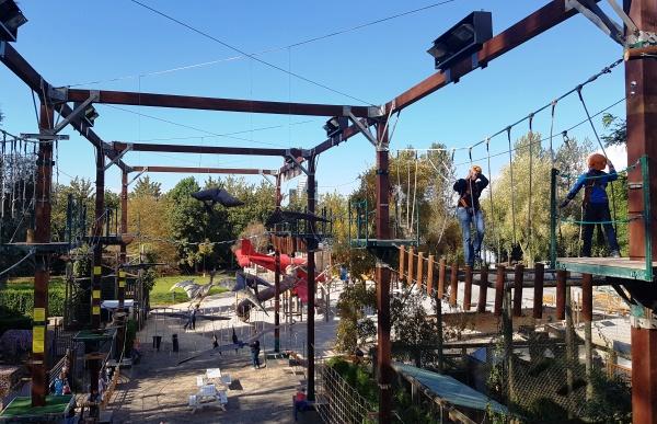 Dinoland hoogteparcours