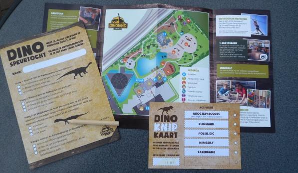 Dinoland knipkaart en speurtocht
