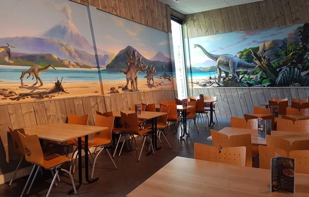 Dinoland restaurant