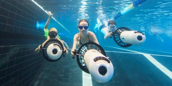 Hof van Saksen onderwaterscooter