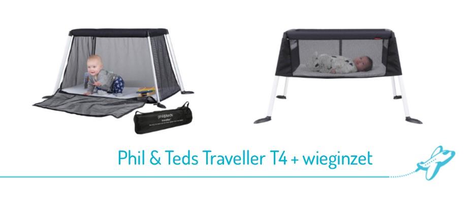 Phil Teds Traveller wieg