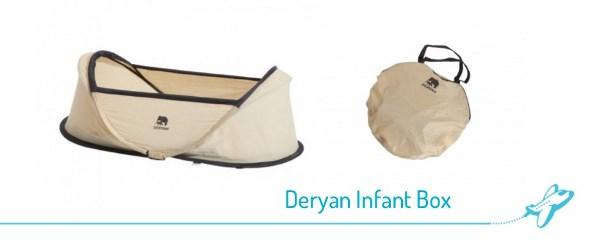 Deryan Baby Luxe Campingbedje Khaki.Lichtgewicht Reiswiegjes Voor Baby S Vakantie