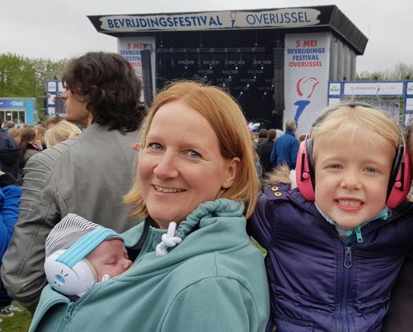 gehoorbescherming baby festival