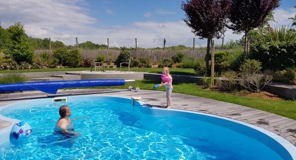 zwembad Les Jardins du Chateau d'Olonne