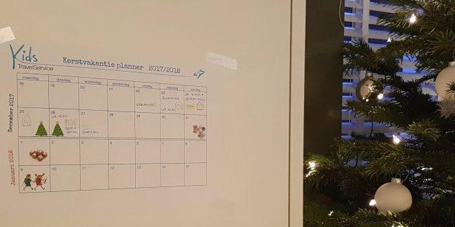 kalender kerstvakantie 2017