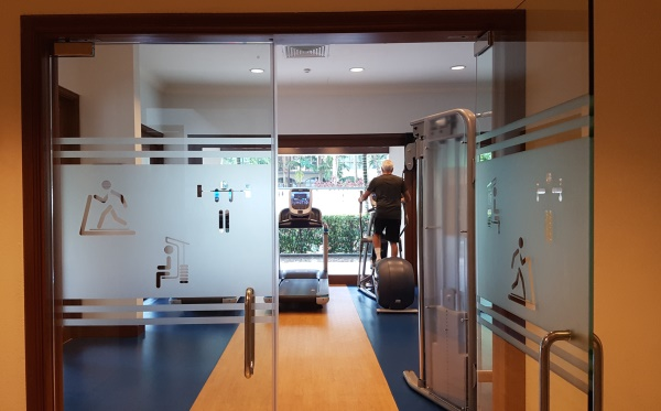 Treetops apartments Singapore gym