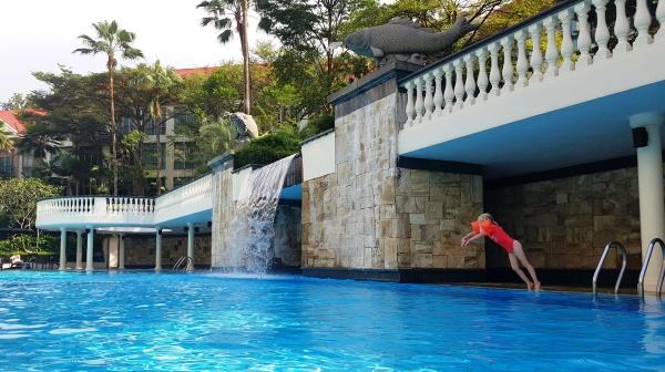 Treetops apartement pool