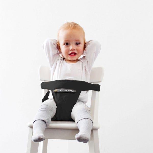 Minimonkey Minichair zwart