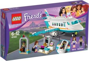 lego friends vliegtuig