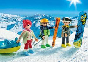 playmobil wintersporters