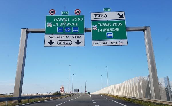 Eurotunnel auto Engeland