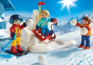 sneeuwballen playmobil