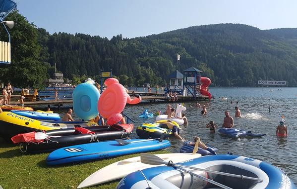 Schwimmbadcamping Mössler Millstattersee