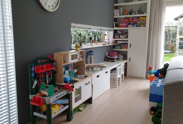 speelhoek woonkamer