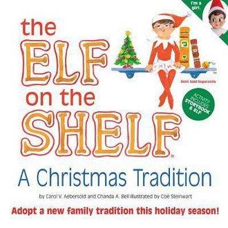 Elf on the shelf kinderboek