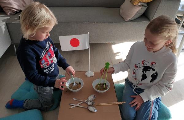 Thuis op reis naar...Japan