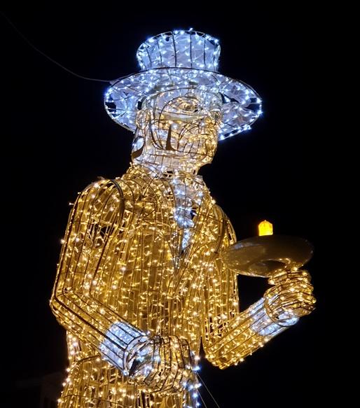 Lichtjeswandeling Deventer Scrooge