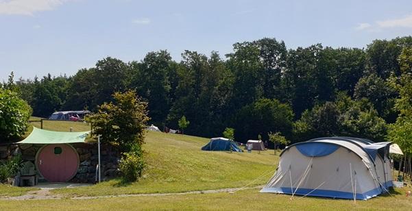 tentenveld camping Orsingen