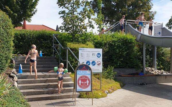 zwembad camping Orsingen