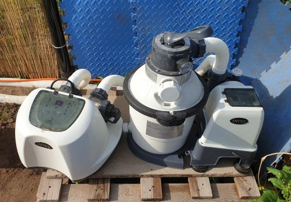 zandfilter zoutwatersysteem